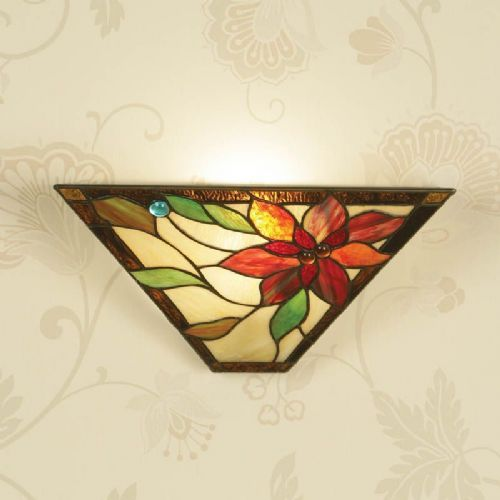 Lelani Wall Lamp (Nature, Wall Lamp) TG103W (Tiffany style)